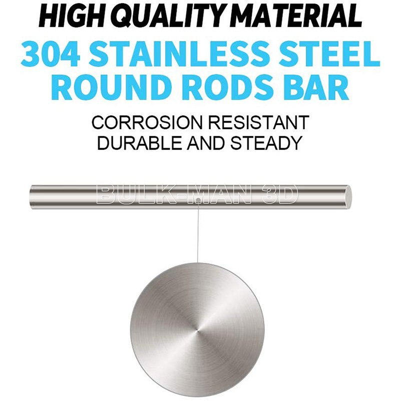 9308 structural steel rod full material ø 8mm x 245mm round