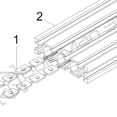 1.3 Spoilerboard Extrusion T-Nuts 01